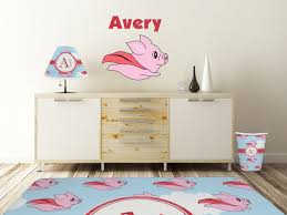 Flying Pigs Graphic Decal Custom Sizes Personalized Youcustomizeit