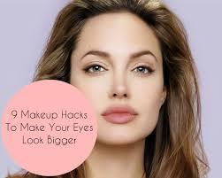 eye makeup make your eyes look bigger