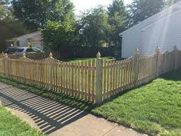 Mc Fence And Deck Residential Fencing Photo Album Wood Fence Install In Herndon Va