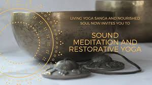 Sound Meditation and Restorative Yoga with Tabatha Smith and Rebekah Rae @  Living Yoga Sanga - Apr 15 2018, 3:00PM