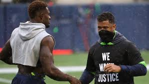 DK Metcalf shows support for the Titans... But there is a reason | RSN