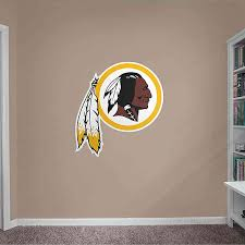 Fathead Nfl Washington Redskins Logo Giant Wall Decal Bed Bath Beyond