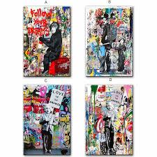 Kids Room Street Wall Graffiti Art Einstein Pop Art Canvas Prints Cuadros Abstractos Decorativos Cuadros De Pared Buy Cuadros Decorativos Cuadros Abstractos Cuadros De Pared Product On Alibaba Com