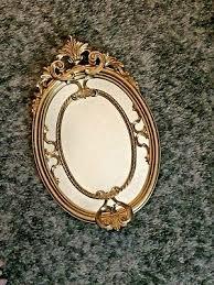vintage mirror gilt italy wall italian