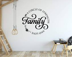 Amazon Com Family A Circle Of Strength And Love Wall Decal Handmade