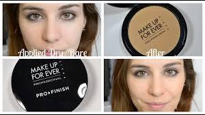 makeup forever pro finish powder ings