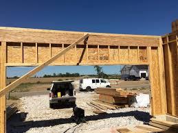 wood beam design and installation