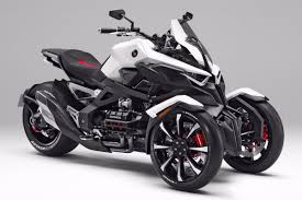 honda presents neowing tilting tricycle