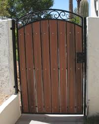 Pin By Catherine Dalton On Gateway To The Homestead Wood Gate Iron Garden Gates Front Gate Design
