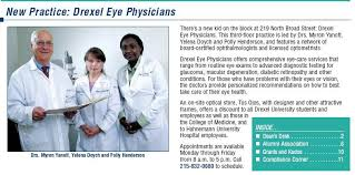 It's all good: Dr. Polly Henderson with Supervisor & Co-Worker 9-2005 @  Drexel University Eye Clinic
