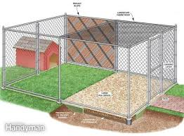 Diy Dog Runs Free Plans Blueprints For Dog Kennels Runs