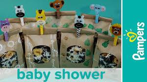jungle theme baby shower favor ideas