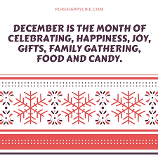 christmas quotes is the month of celebrating