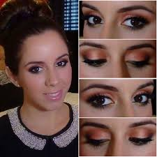 prom makeup tutorial green eyes