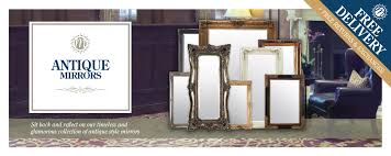 antique mirrors collection with free uk