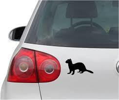 Amazon Com Indigos Ug Sticker Decal Jdm Die Cut Ferret Ferrett Weasel Vinyl Car Decal Sticker Black 139mm X81mm Automotive
