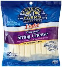 wisconsin mozzarella string cheese