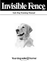 Safe Dog Training Manual Pdf Free Download