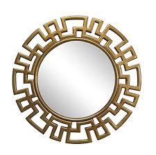 com wall mirror vintage round