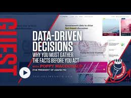 Poppy MacDonald | Data-Driven Decisions | Why You Must Gather the Facts  Before You Act with the... - YouTube