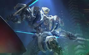 robot warrior artwork pacific rim