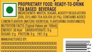 understand the label lemon coca cola