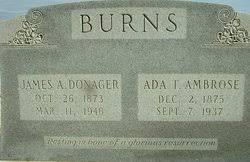Ada Talulah Ambrose Burns (1875-1937) - Find A Grave Memorial