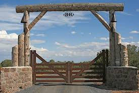 Rustic Gates Ranch Gates Farm Entrance Ranch Entrance Ideas