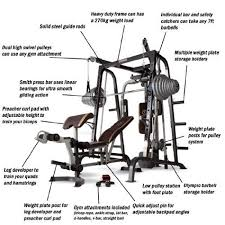 Marcy Smith Cage Workout Machine Total Body Training Home Gym System w –  HotSaleItem