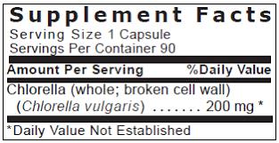 quantum chlorella formulated by dr bob