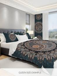 mandala comforter ying yang comforter