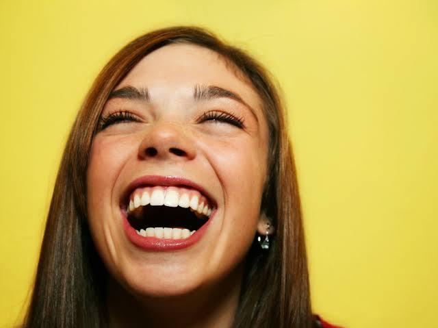 4) Laugh