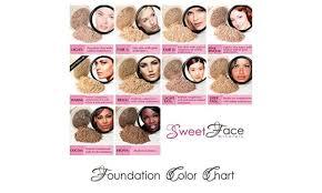 3pcs mineral makeup set bare skin sheer