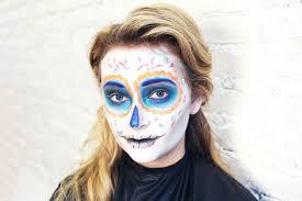 sugar skull makeup an easy tutorial