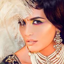 indian bridal makeup stani bridal