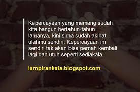 √ ngena kata kata egois buat sahabat dan teman lamp