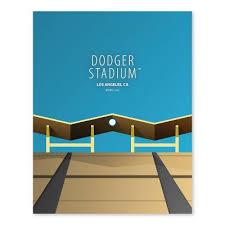 Mlb Los Angeles Dodgers Ballpark Canvas Target