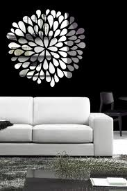 reflective wall decals with mirror like