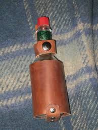 leather hot sauce holster