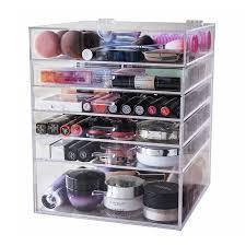 kardashian acrylic makeup storage uk