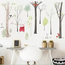 Europe Style Animals Fairy Tales Woodland Wall Stickers For Nursery Ki Delite Shopping