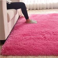 Plush Fur Carpet Livingroom Soft Shaggy Carpet Kids Room 4 5cm Hair Bedroom Rug Sofa Coffee Table Floor Mat Modern Large Rugs