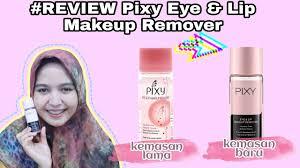 review eye lip makeup remover pixy