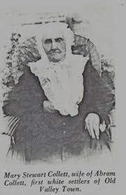 Mary Polly Stewart Collett (1804-1894) - Find A Grave Memorial