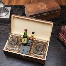 fueled by fire custom whiskey gift set