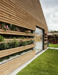 exterior wall cladding wood facade