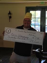 OCMGA's Greg Valenzuela wins the Douchebag shooting a 90. Second place..97  | MGA Tour