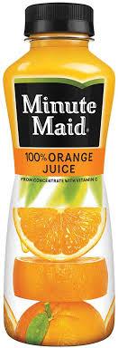 minute maid orange juice original 12