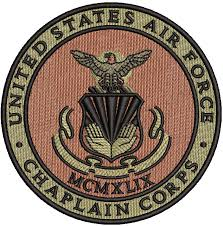 U S Sticker Air Force Chaplains Corps Decal