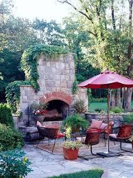outdoor fireplace ideas outdoor
